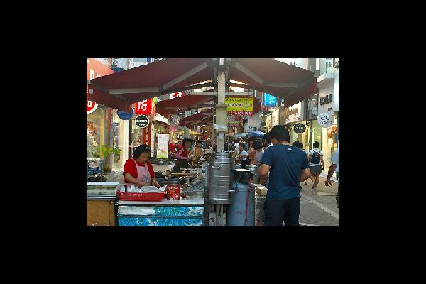 The downtown food market is very nice; chicken and potatoes are the specialties of the region.