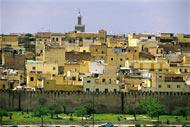 El mausoleo de Moulay Ismail es uno de los pocos monumentos religioso de Marruecos abierto a los no musulmanes.