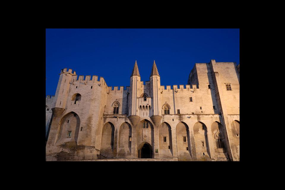 The venerated Palais des Papes, the largest Gothic construction of the Middle Ages, is both a fortress and a residential palace and is home to six different conclaves!