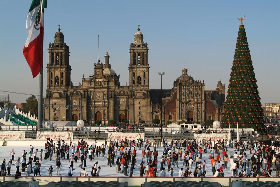 Davon gibt es noch viele in Mexiko City.