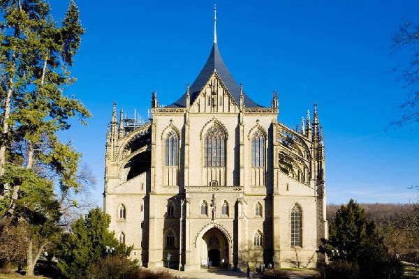 One of the most famous Gothic churches in central Europe, the Cathedral of St Barbara is a UNESCO world heritage site.