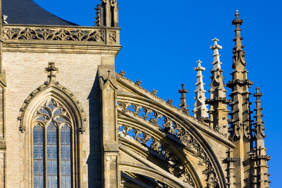 Although construction began on the cathedral as early as 1388, the magnificent building was not finished until 1905.