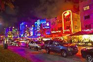 Ocean Drive est la rue la plus Art Deco de Floride.