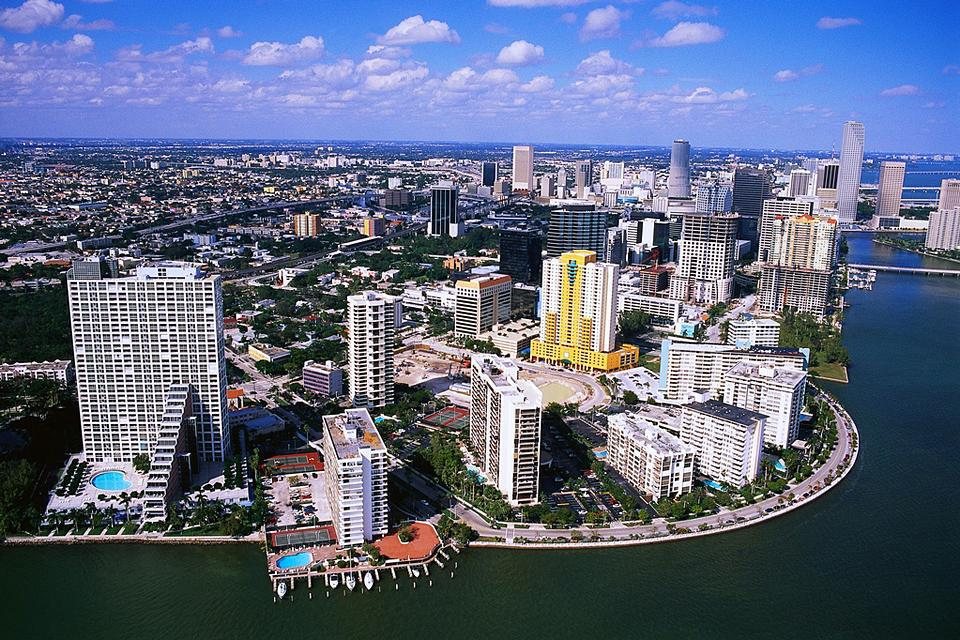 The city of Miami is nicknamed 'The Gateway to the Americas', due to its cultural, linguistic and economic vitality.
