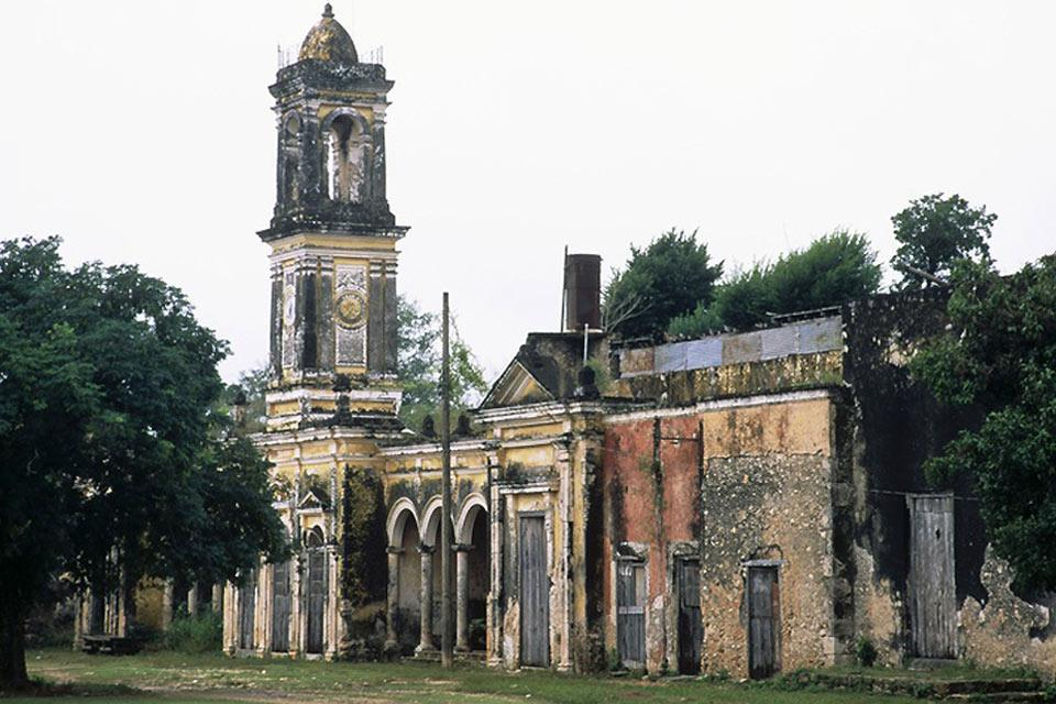 Una delle prime chiese edificate nella zona ad opera dei missionari gesuiti, dopo la conquista spagnola.