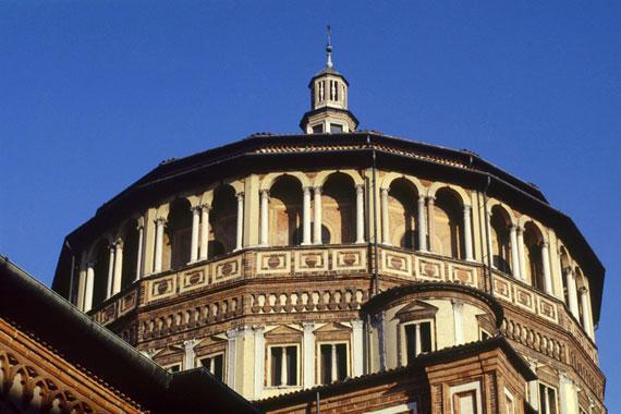 Mil�n : Santa Maria delle Grazie, Mil�n - Italia