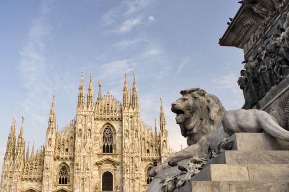 Mil�n : El Duomo de Mil�n - Italia