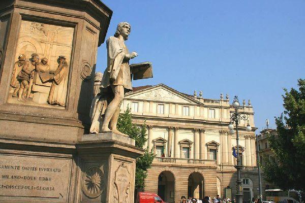 Das Mailänder Teatro alla Scala ist ein berühmtes Opernhaus und vielleicht die berühmteste künstlerische Stätte der lombardischen Hauptstadt.