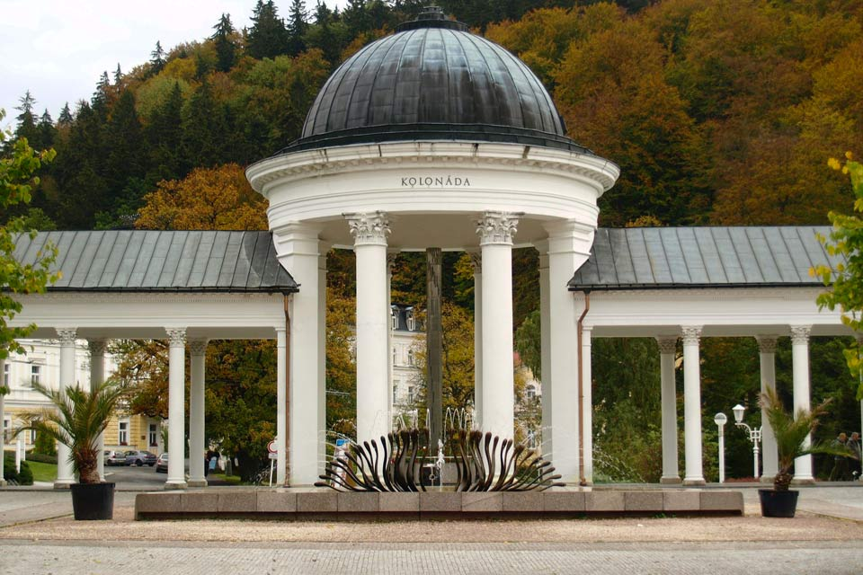 Marianske Lazne, an elegant Neo-Classical and Art-Noveau spa town in the Czech Republic.