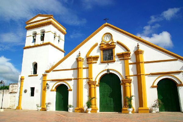 Of the many churches in the town of Mompox, San Francisco Church is the oldest.