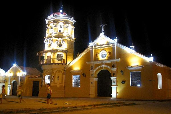 This is the best-known church in Mompox, attracting the attention of visitors for its octagonal tower and its baroque style.