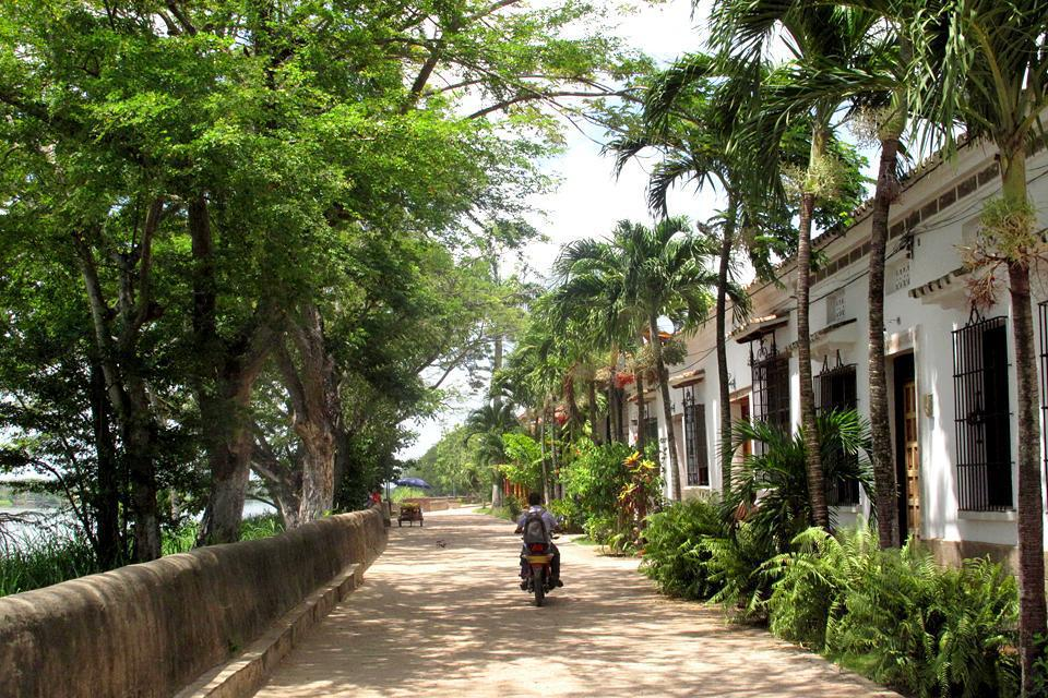 A quiet town, Mompox is a colonial treasure with the Magdalena River, to only way to reach the island, running through it.