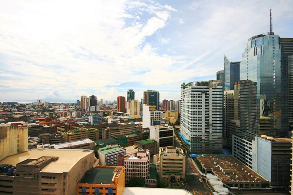 Manila is located on the eastern shores of Manila Bay.