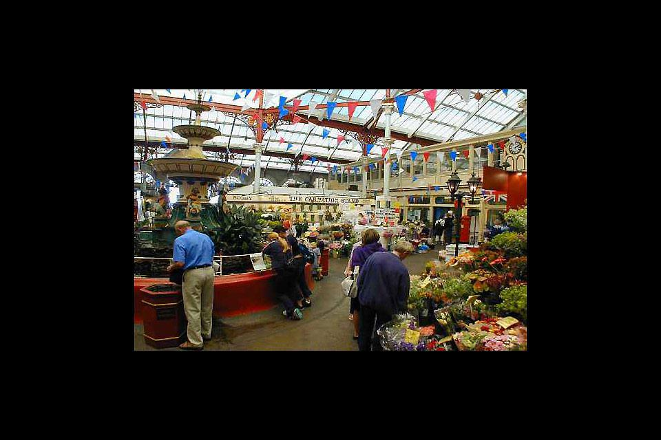 Don't miss out on a visit to the lovely indoor market in Saint Helier, built at the end of the 19th century.