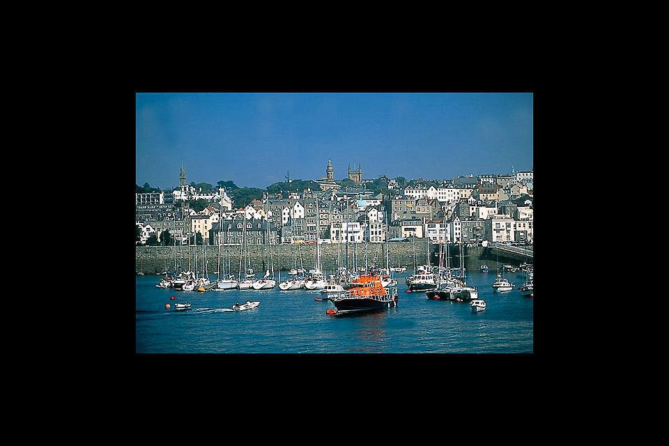 Saint Peter Port is the capital of Guernsey as well as the main port. The parish of St. Peter Port is a small town consisting mostly of steep narrow streets