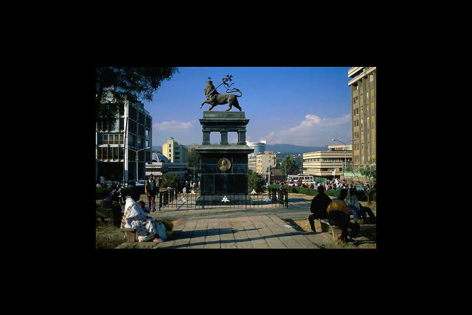 Cette statue est le symbole de l'Ethyopie.