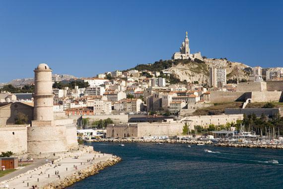 Marseille : Notre Dame de la Garde - France