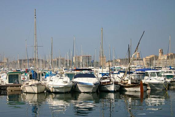 Marseille : Pleasure crafts in Marseille - France