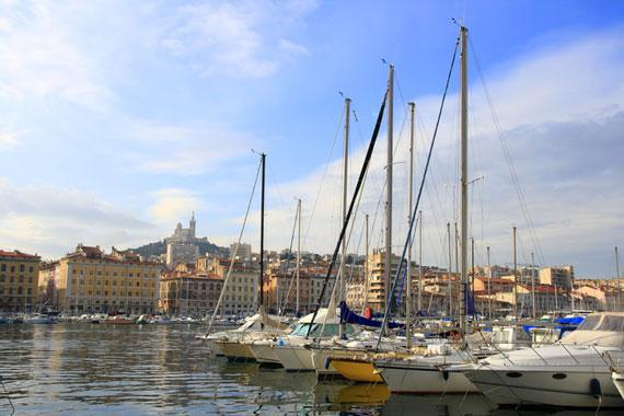 Marseille : The Old Port - France