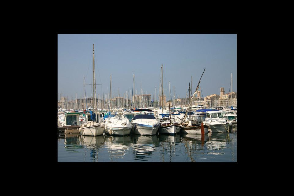 Marseille's marina, an emblematic spot where plenty of events take place.