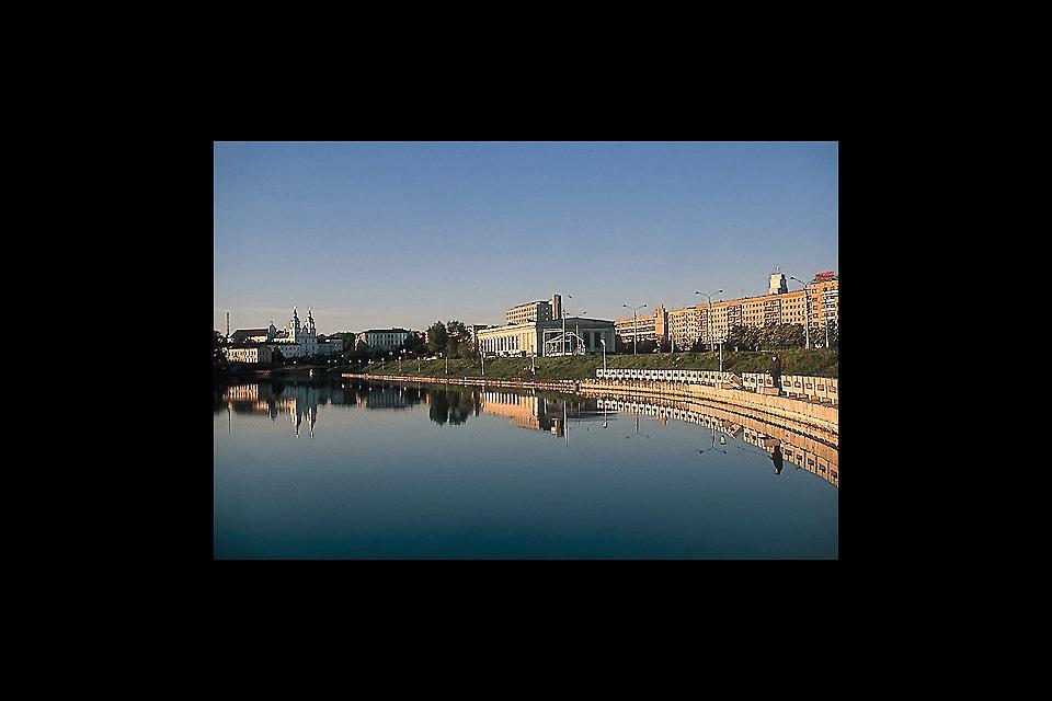 Mit einer Fläche von 255,8 km2 und 9 Stadtbezirken, liegt die weissrussische Hauptstadt Minsk an der Swislatsch, einem Nebenfluss der Bjaresina