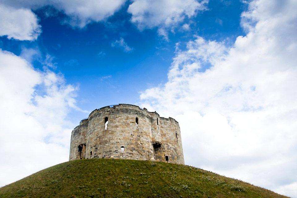 York castle has become a national monument, which is open for visitors