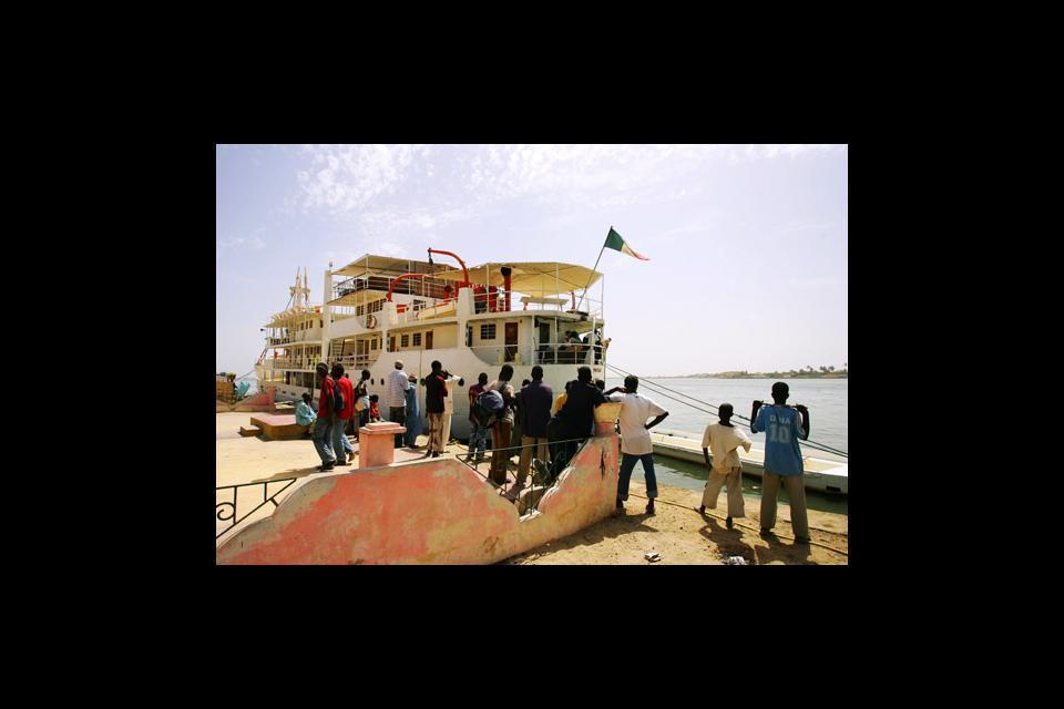 Un crucero por el río Senegal te permitirá descubrir la ciudad desde otro punto de vista