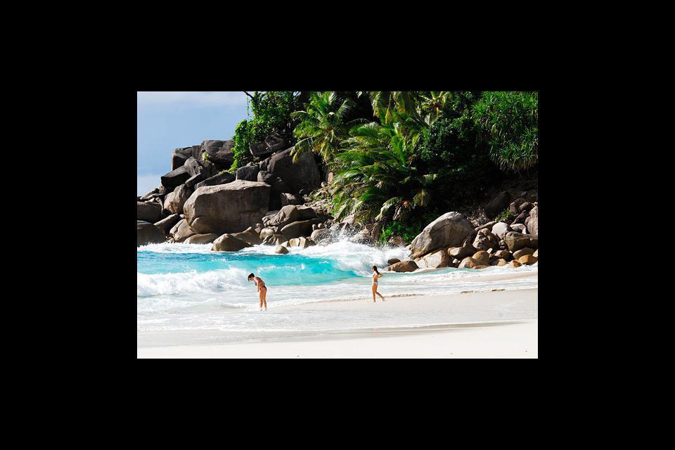 Las playas de ensueño no están lejos del centro de la ciudad.
