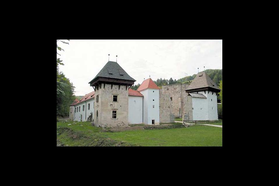 Le château, datant de l'époque romaine, est le symbole de la ville.