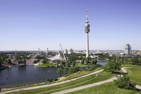 De la tour de la télévision, on a une superbe vue sur Munich