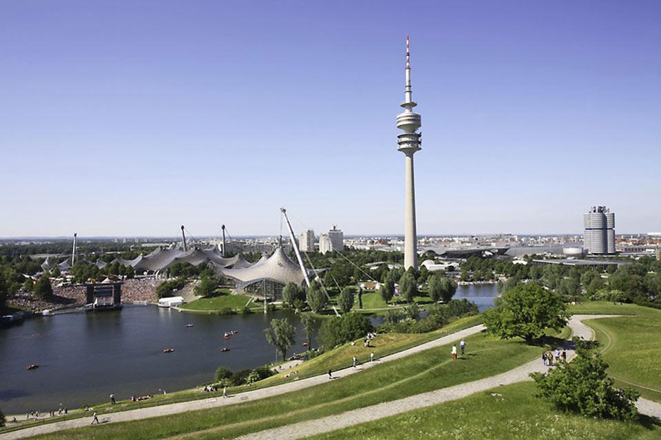 You can enjoy a fantastic view of Munich from the television tower