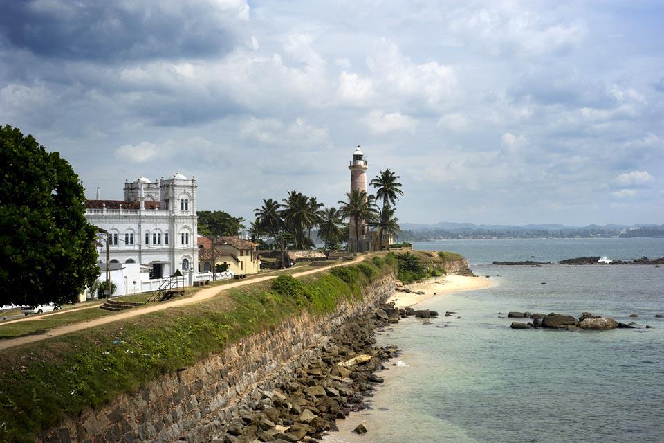 The Galle fort is a world heritage site and the largest remaining fortress in Asia built by European occupiers