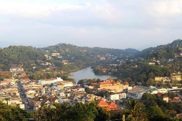 Kandy is at once an administrative and religious city.