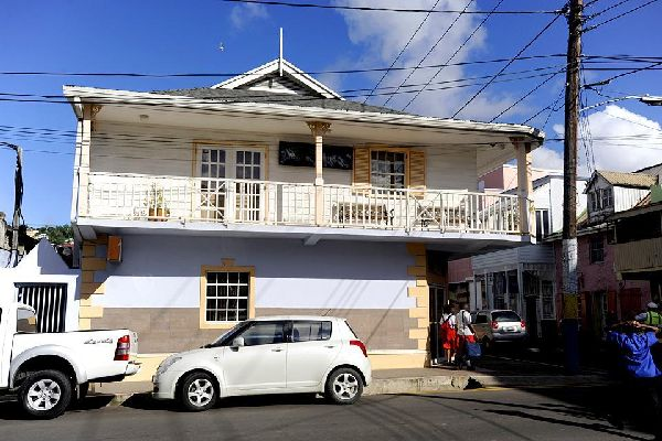 You can still see the odd traditional wooden house in the Castries city centre, even if there's really nothing special about them.