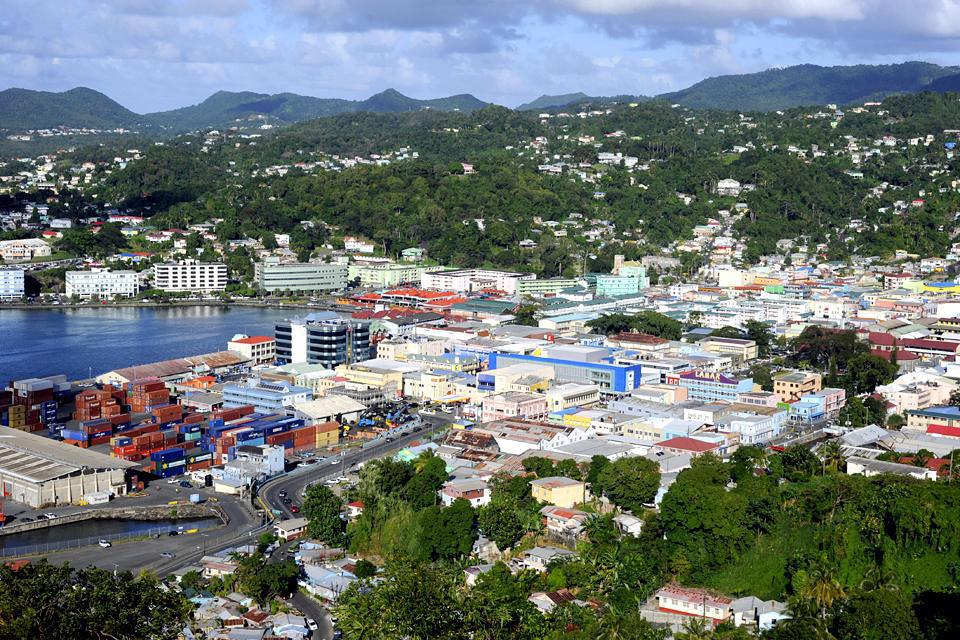 The political and economic capital of St. Lucia is home to some 65,000 inhabitants.