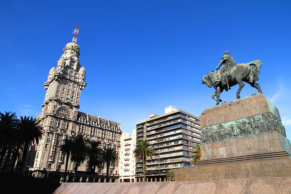 Montevideo is a friendly-sized capital city. It only has 1,500,000 inhabitants.