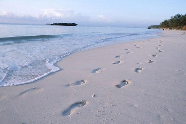 Malindi still boasts a number of completely deserted beaches.