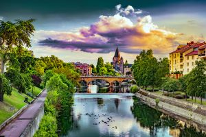 Europe; France; Lorraine; Metz;