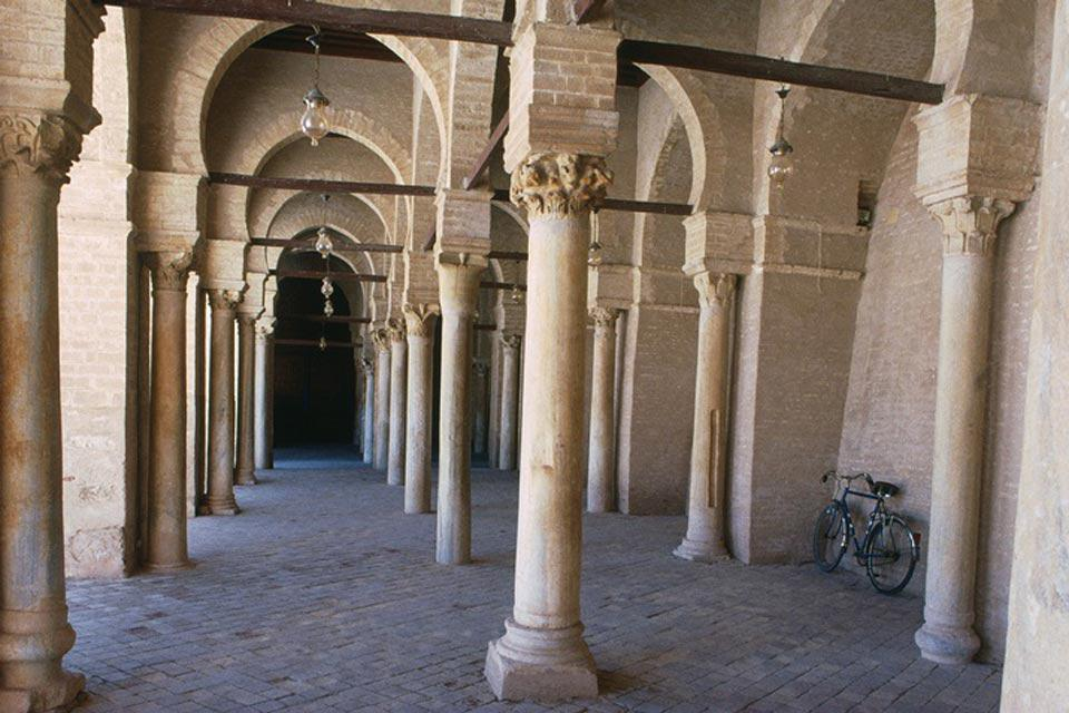 Like the city of Kairouan, the Great Mosque was classified a UNESCO World Heritage site in 1988.