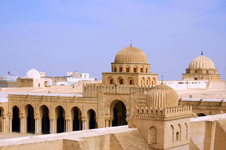 The charm and authenticity of Kairouan is evident in the architecture of its traditional houses.