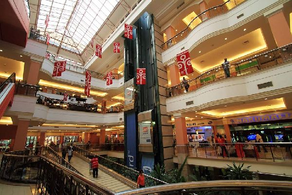 This shopping centre is the biggest in Kenya.