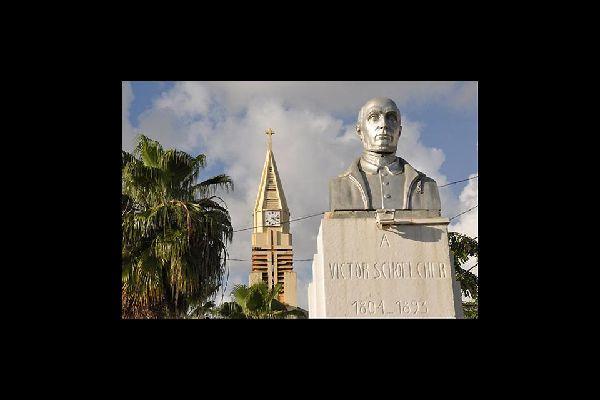 Victor Schœlcher, un des pères de ol'abolition définitive de l'esclavage sur le sol français.