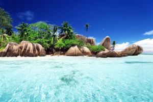 Océan Indien; Seychelles; La Digue;