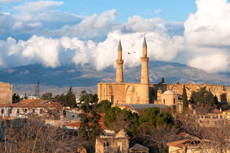 Divided into two since 1974, Nicosia (Lefkossia in Greek) has suffered considerably from the violence between the Greek and Turkish communities. Today, it is the only split capital in the world,having been divided in two by the