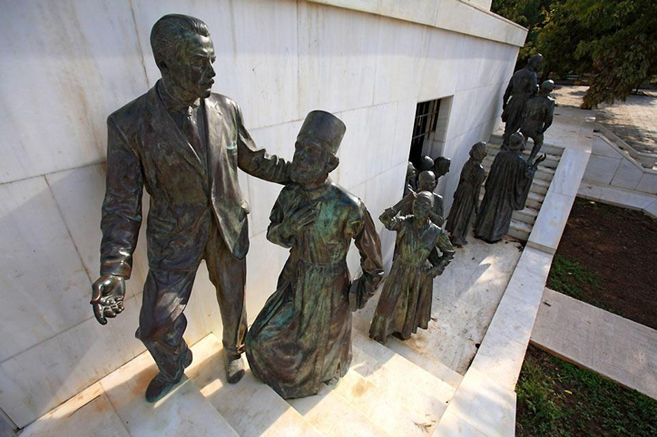 The monument was erected in 1970 to commemorate the struggle and the independence of Cyprus (1955-1959).