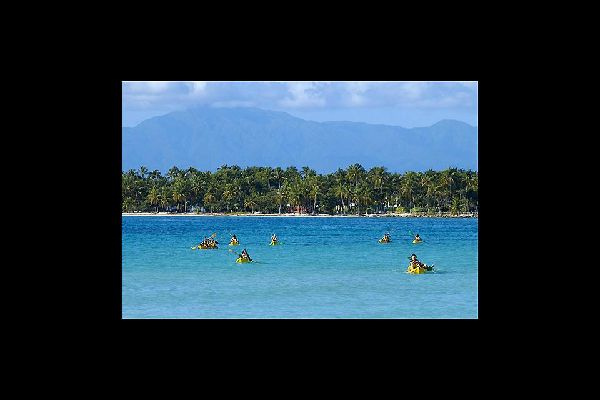 Sainte-Anne is one of the three biggest seaside resort towns in Guadeloupe.