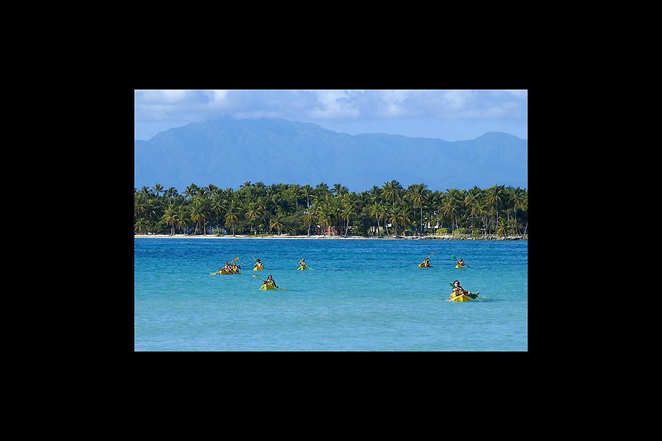 Sainte-Anne gehört zu den drei wichtigsten Badeorten von Guadeloupe.