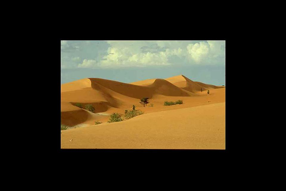 Das ehemalige Ksar-Viertel in Nouakchott befindet sich vor den Toren der Wüste.