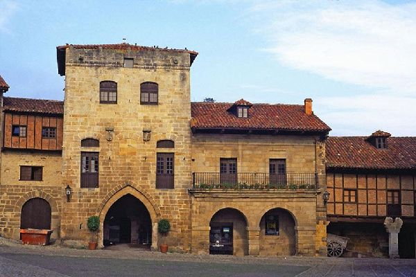 The Santillana Foundation's headquarters are found here in the Tower of Don Borja.