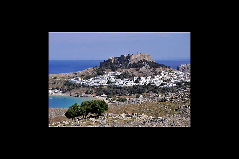 After the capital, Lindos is the second most visited town on the island of Rhodes.